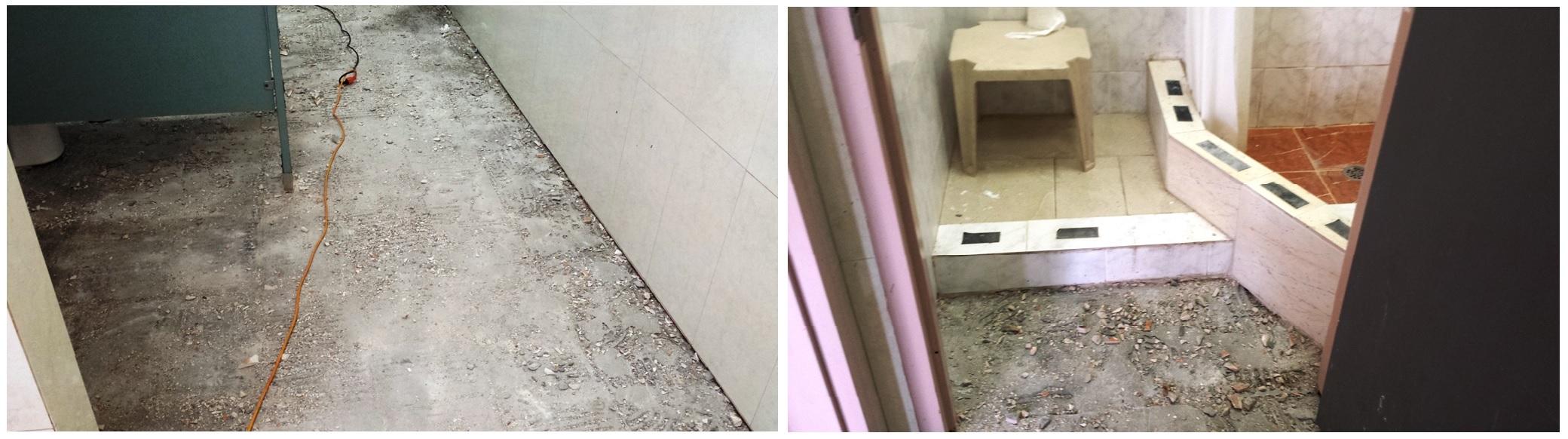 การซ่อมแซมห้องน้ำ สาธารณะ